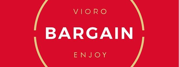 VIOROは、バーゲンも福袋も1月2日(水)9:00よりスタート。最大70%OFFを実施する店舗もある