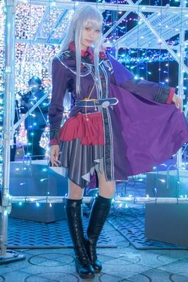 「BanG Dream!(バンドリ)」の湊友希那に扮した有栖さん