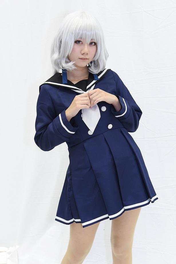 「ゾンビランドサガ」の紺野純子に扮する みなちゃんさん
