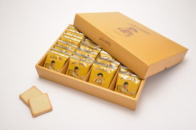 ザ・メープルマニア「メープルバタークッキー」(9枚入 864円 / 18枚入 1728円 / 32枚入 3214円)