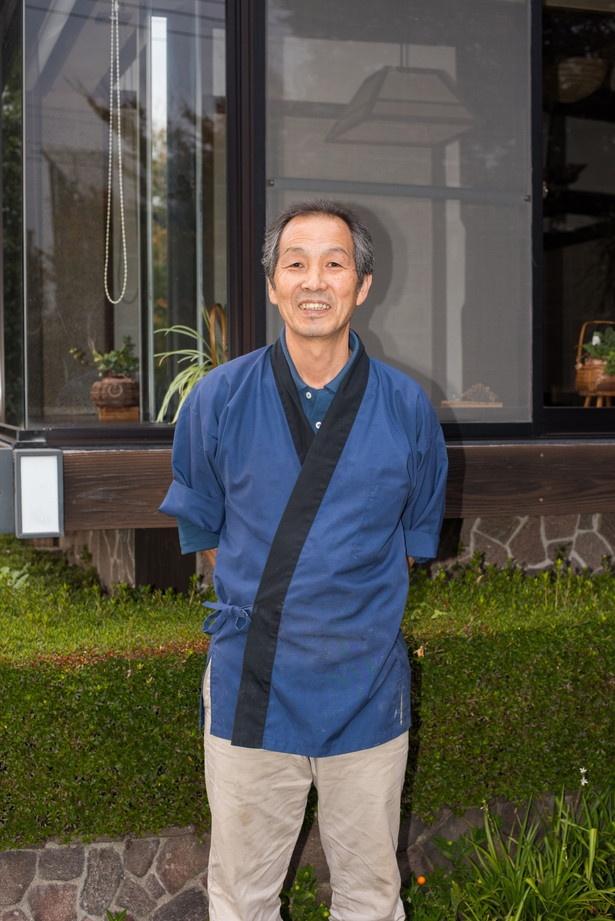 店主の後藤清敏さん。宇都宮のホテルなどで修業し、「お食事処 わらべ」を創業。観光バスツアーで利用されるほど人気に。