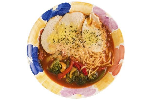 こちらも食べたい!トマトラーメン980円