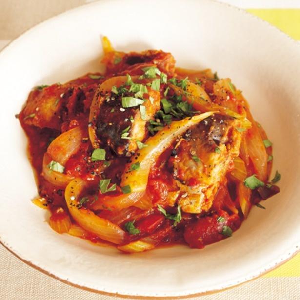 【関連レシピ】さばのトマト煮