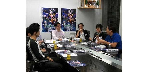 9月某日、ウェブ&モバイル媒体の編集者が集結し、ガンダム00の座談会が開催された