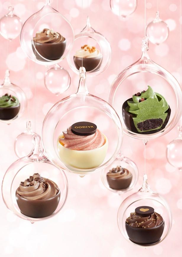 味わいもルックスもドリーミーな、6種類の限定チョコが登場!「ゴディバフェアリーケークコレクション」のイメージ画像