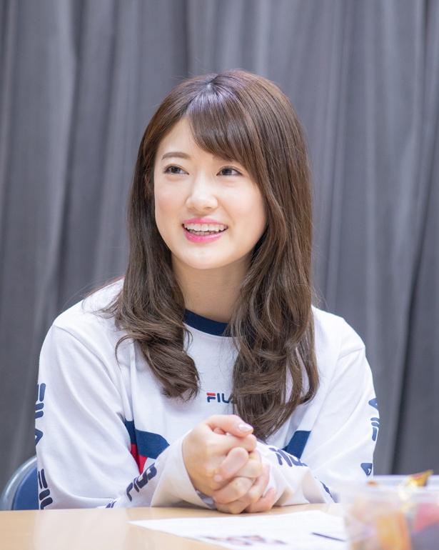 樋口日奈は「乃木坂46を引っ張り、個人としてもグループとしても頑張りたい」と語った