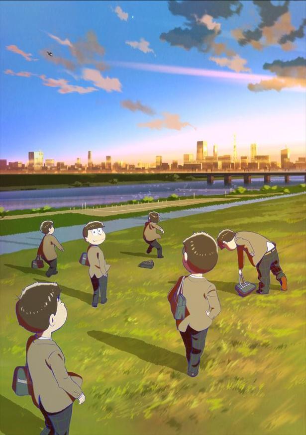 【写真を見る】おそ松たちが制服に!?『えいがのおそ松さん』は3月15日(金)公開