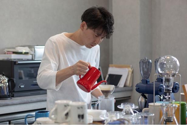 RAIL COFFEE ROASTERS / 以前はインテリアの仕事をしていた上村さん