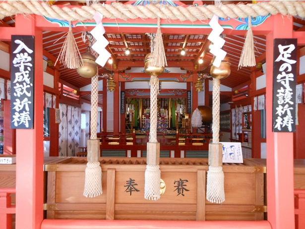 【写真を見る】大阪府豊中市にある服部天神宮。 スポーツのご利益を求める参拝客でにぎわう