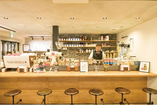 Brewer's Coffee ばんぢろ / 店主はアドバンスドコーヒーマイスターのほか、ティーアドバイザーの資格も持ち、コーヒーと紅茶を突き詰める