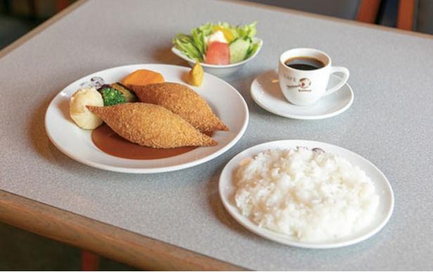 ブラジレイロ / 7種ある洋食のなかでも人気の高いミンチカツレツ(1000円※数量限定)
