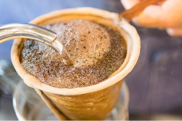 マスカル珈琲 / 1杯130ccに対し豆は20gとたっぷり