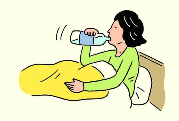発熱時は水分補給が重要