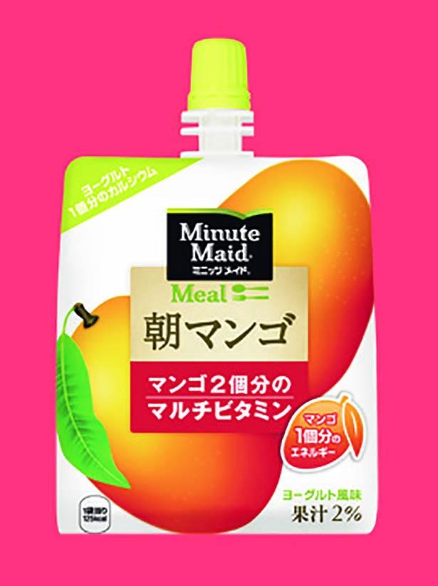 ミニッツメイド朝マンゴ 180g 189円 /日本コカ・コーラ