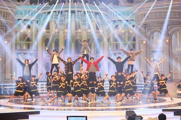 「第69回NHK紅白歌合戦」のリハーサルに臨んだHey! Say! JUMP