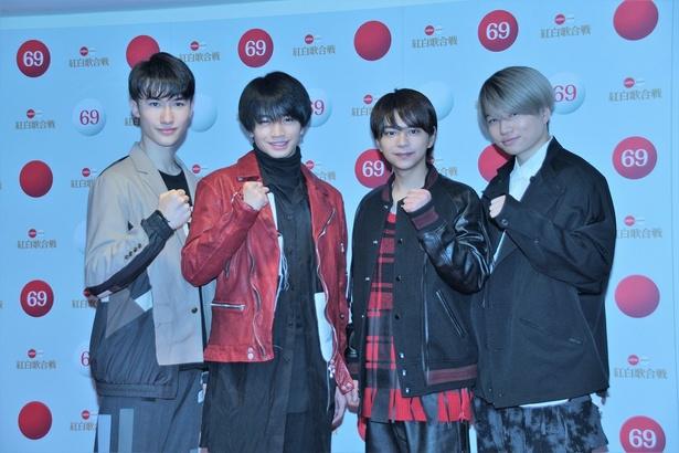 「第69回NHK紅白歌合戦」のリハーサルにSexy Zoneが登場!