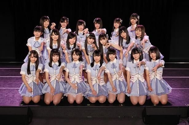 お披露目が行われたSKE48 9期生20人