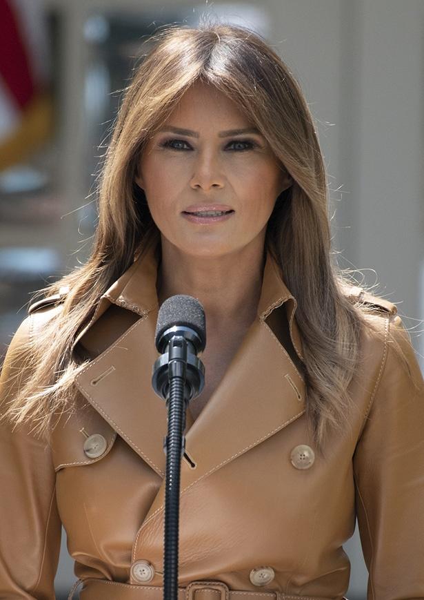 ドナルド・トランプ大統領の妻、メラニア・トランプ