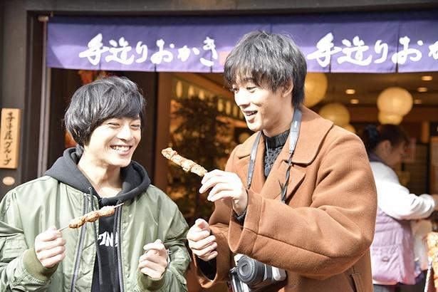 【写真を見る】永田&近藤が、西尾季隆(X-GUN)と軽井沢おすすめスポットを巡る