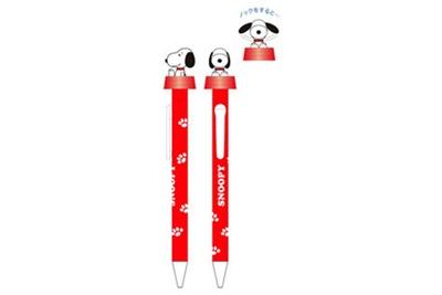 【写真を見る】「アクションペン/スヌーピー」(税抜680円)
