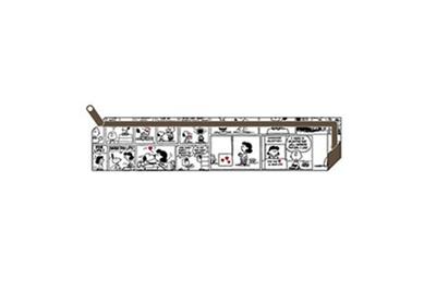 「スリムペンポーチ/コミック」(税抜650円)