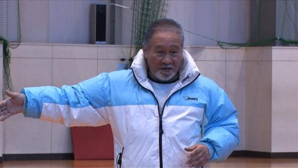 日本体育大学名誉教授・清原伸彦氏がメンバーを熱血指導!