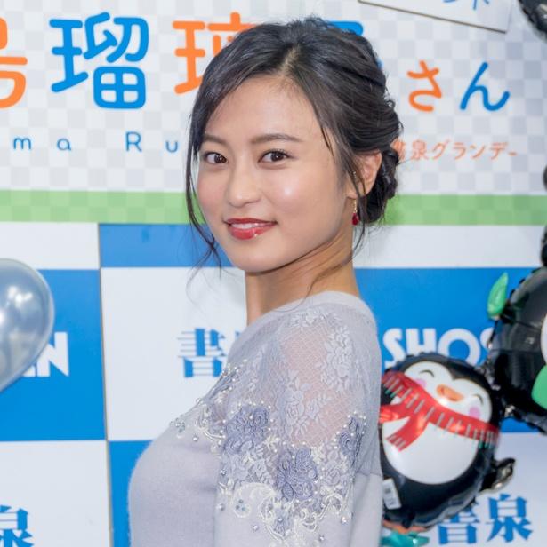2019年カレンダー発売イベントに出席した小島瑠璃子