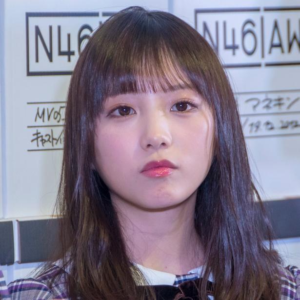 「乃木坂46 Artworks だいたいぜんぶ展」メディア内覧会に出席した与田祐希