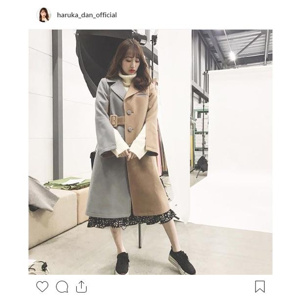 ※画像は團遥香(haruka_dan_official)公式Instagramのスクリーンショット