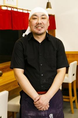 「食材を厳選し、自家製にもこだわってクオリティの高い佐野ラーメンを作り続けます」店主大澤良仁さん