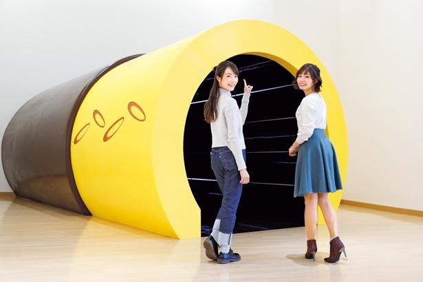 工場への入口はポッキー!/グリコピア神戸