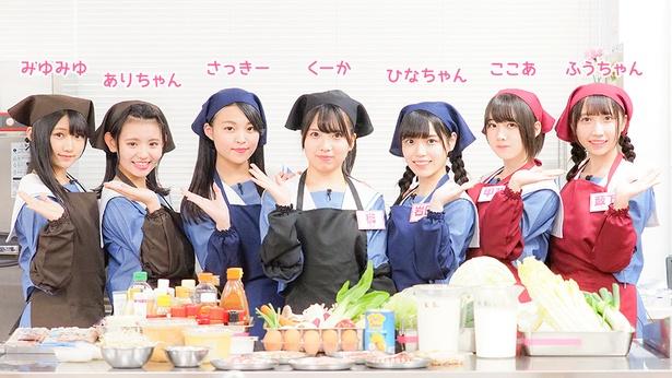 今回は麺料理で対決するSTU48