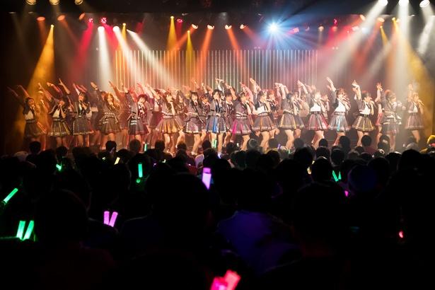 新春特別公演を開催したNMB48