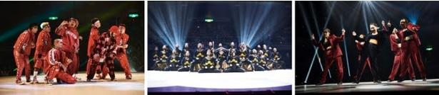 様々なシーンで活躍するトップダンサー達