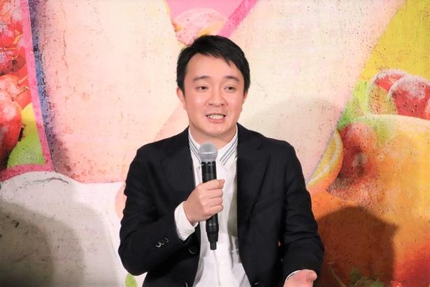 デリヘルの店長となったごく普通の男性・咲田真一を演じる濱田岳