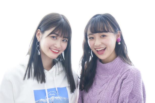 「太陽とオオカミくんには騙されない」の人気出演メンバーにインタビュー( 左から生見愛瑠、鈴木美羽)