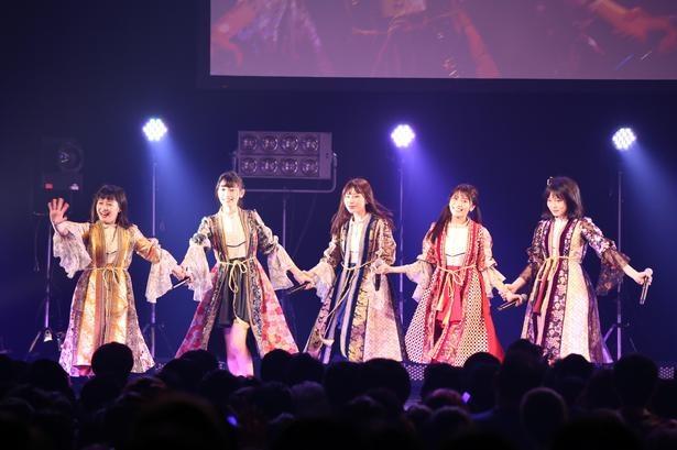 1月3日の「ニューイヤープレミアムパーティー2019」で大トリを飾ったまねきケチャ