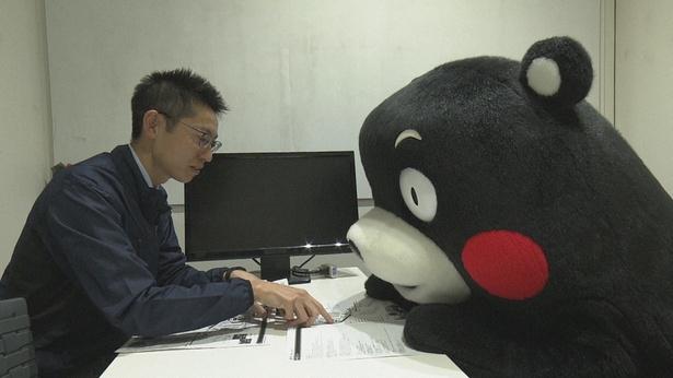 1月14日(月)に放送される「プロフェッショナル 仕事の流儀」(NHK総合)でくまモンに密着