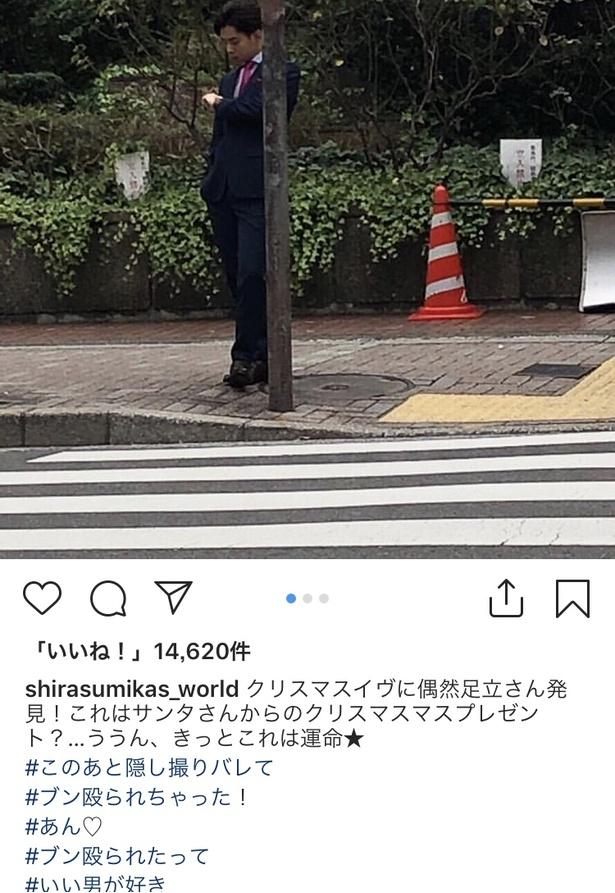 ※「家売るオンナの逆襲」インスタグラム 白洲美加の世界【公式】(shirasumikas_world)のスクリーンショット