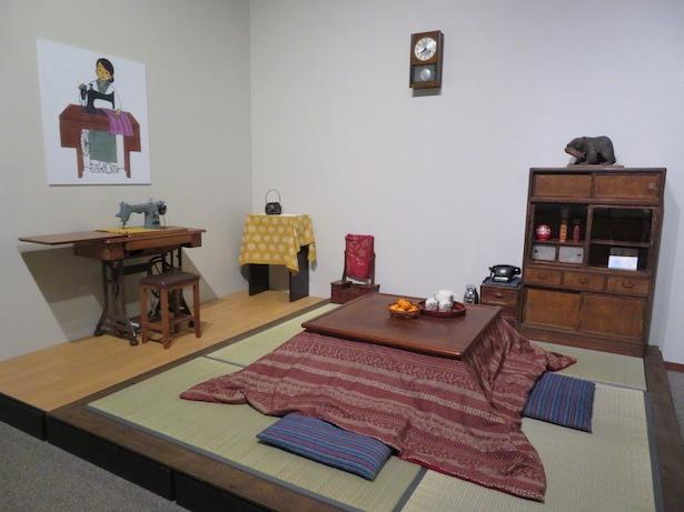 第8回テーマ展示 「昭和のくらし  ~こたつでみかんを食べた冬~」