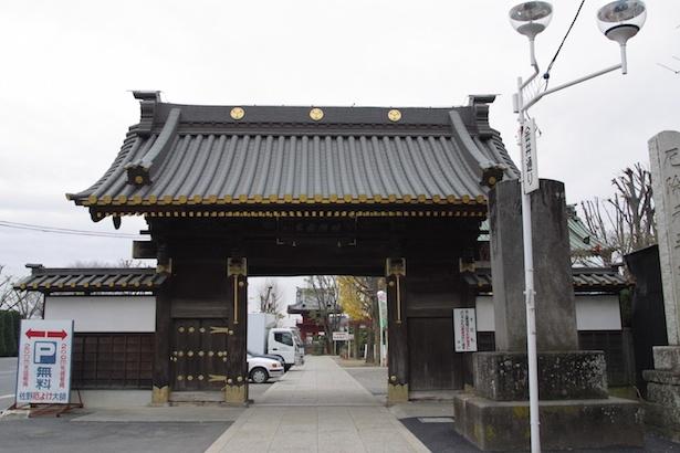 関東三大師に数えられる惣宗寺。「佐野厄よけ大師」の通称で知られる