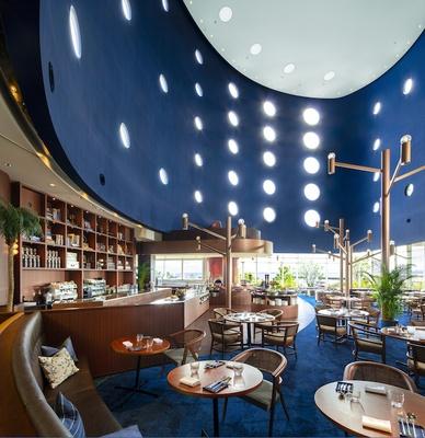 琵琶湖ホテル2階にある「イタリアン ダイニング ベルラーゴ」