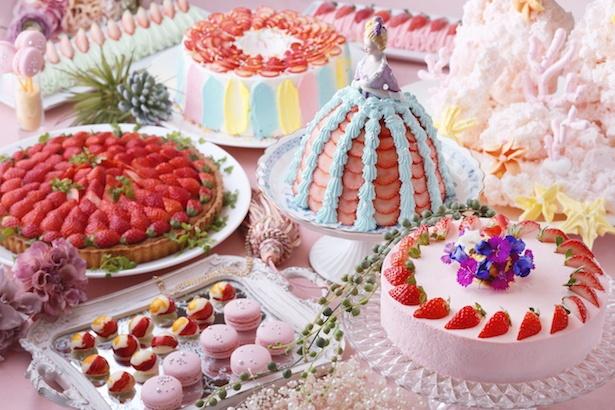 ストロベリースイーツビュッフェ「Sweets Buffet~Strawberry Aquarium~」