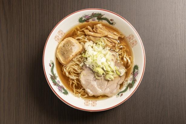 やっぱり煮干しが好きならこちらもおすすめ。鶏煮干しょうゆラーメン700円