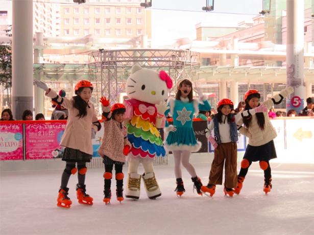 アイススケートショーも開催予定! 迫力あるショーを見に行こう