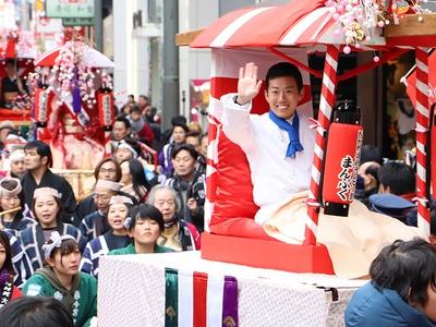 NHK連続テレビ小説「まんぷく」に出演中の藤山扇治郎さんも参加