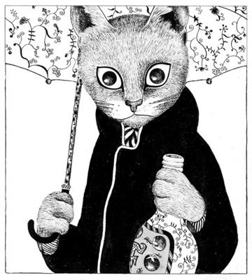 ますむらひろし「酔いどれ鉄の肖像」1976年発表