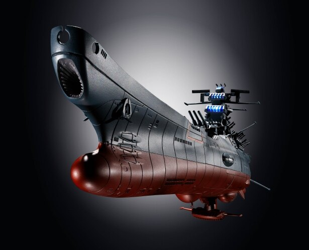 宇宙戦艦ヤマトも迫力のサイズで立体化(超合金魂 GX-86 宇宙戦艦ヤマト2202)