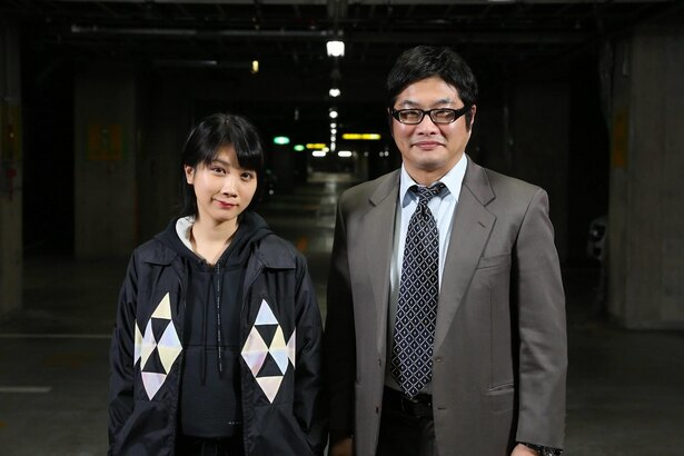 1月14日(月)よりスタートのドラマ「JOKER×FACE」でW主演を務める松本穂香、松尾諭
