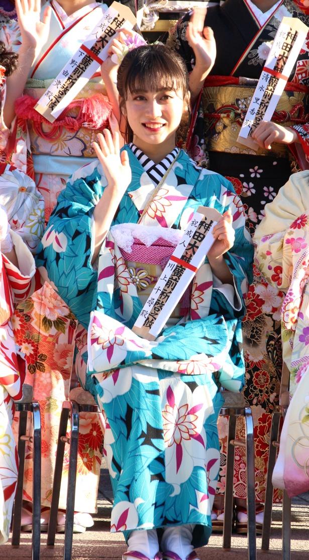 NMB48・川上千尋は「全盛期よりももっと輝けるNMB48に」とコメント